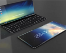The Galaxy X looks quite similar to Microsoft's Surface Phone designs. (Source: AndroidLeo)