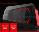 MSI looks to compete with Razer's Core and the Alienware Graphics Amplifier with GUS, an e-GPU. (Source: MSI)