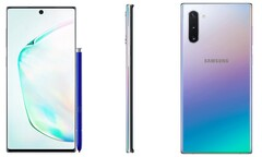The Samsung Galaxy Note 10 will sport just an FHD+ display. (Source: Ishan Agarwal)
