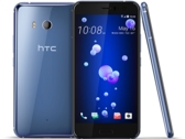 The 128 GB HTC U11 is available exclusively in silver. (Source: HTC)