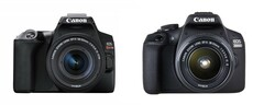 Sly tactics: Canon has limited the EOS Rebel SL3 (EOS 250D/EOS Kiss X) and EOS 2000D (Rebel T7) to proprietary flash accessories. (Image source: Canon)
