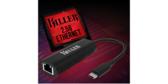 Killer's new Ethernet dongle. (Source: Rivet Networks)