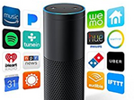 The Amazon Echo may soon be able to place phone calls and intercom with other Alexa devices. (Source: Amazon)