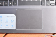 The touchpad is large and works well apart from the sometimes-frustrating integrated buttons.