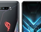 The ROG Phone 3 looks a lot like its predecessor. (Image source: Evan Blass)