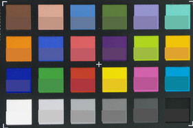 ColorChecker: The bottom half of every field shows the target color.