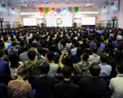 Google welcomes its new employees courtesy of HTC. (Source: Google)