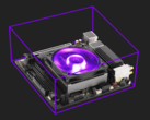 A compact RGB cooler for small form factor cases. (Source: Cooler Master)