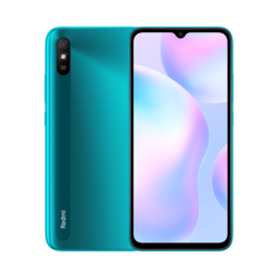 The Redmi 9A is available in the colors Sunset Purple and Carbon Grey.