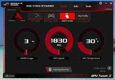 Asus GPU Tweak (Silent Mode)