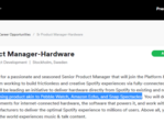 The new job posting that is fueling the hardware rumors. (Source: Zats Not Funny!)