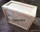 Origin PC ships its PCs in cool wooden crates