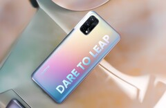 The Realme Q2 will likely run a MediaTek Dimensity 1000+ (image via Realme)