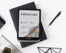 The PocketBook InkPad Color features a 7.8-inch E Ink Kaleido display. (Image: PocketBook)