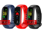 Some cheap fitness trackers have fake heart rate sensors. (Image source: CNX Software)
