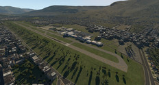 Default X-Plane 11 Olaya Herrera Airport airport. (Source: Laminar Research)