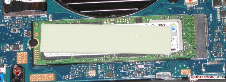 An NVMe SSD serves as the system drive