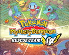 Pokémon Mystery Dungeon: Rescue Team DX will launch on March 6. (Image source: Nintendo & Game Freak)