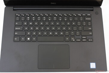 Same keyboard layout and clickpad as the last generation XPS 15 9570/9560