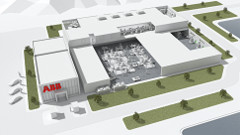 A schematic for the new plant in Shanghai. (Source: ABB)