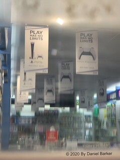 PS5 banners in Australia. (Image source: @DanielBarker21)