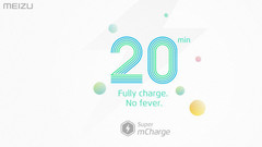 Meizu claims that Super mCharge is much faster than VOOC and Quick Charge technologies from its competitors. (Source: Meizu)
