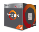 AMD 'Raven Ridge' Ryzen 5 2400G APU. (Source: AMD)