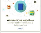 Google Contacts app Suggestions screen, app now compatible with Lollipop and Marshmallow