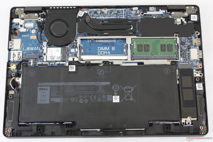 Easy access to internal components as is tradition for a Dell Latitude laptop