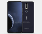 The Nokia X71 could end up being called the Nokia 8.1 Plus in some markets. (Source: OnLeaks)