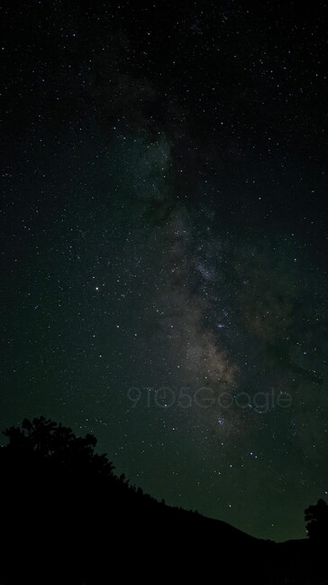 Pixel 4 Astrophotography camera sample. (Source: 9to5Google)