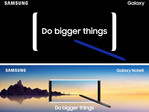 Official advertising material for the Note 8, according to Evan Blass. (Source: @evleaks | Twitter)