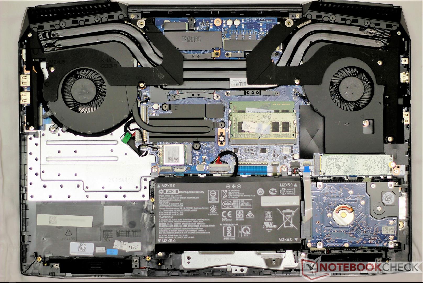 HP Omen 17t (i7-8750H, GTX 1070) Laptop Review