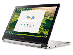 In review: Acer Chromebook R13 CB5-312T-K0YK. Test model courtesy of Notebooksbilliger.de