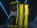 Introducing the GeForce RTX 2080 Ti Cyberpunk 2077 Edition. (Image source: NVIDIA)