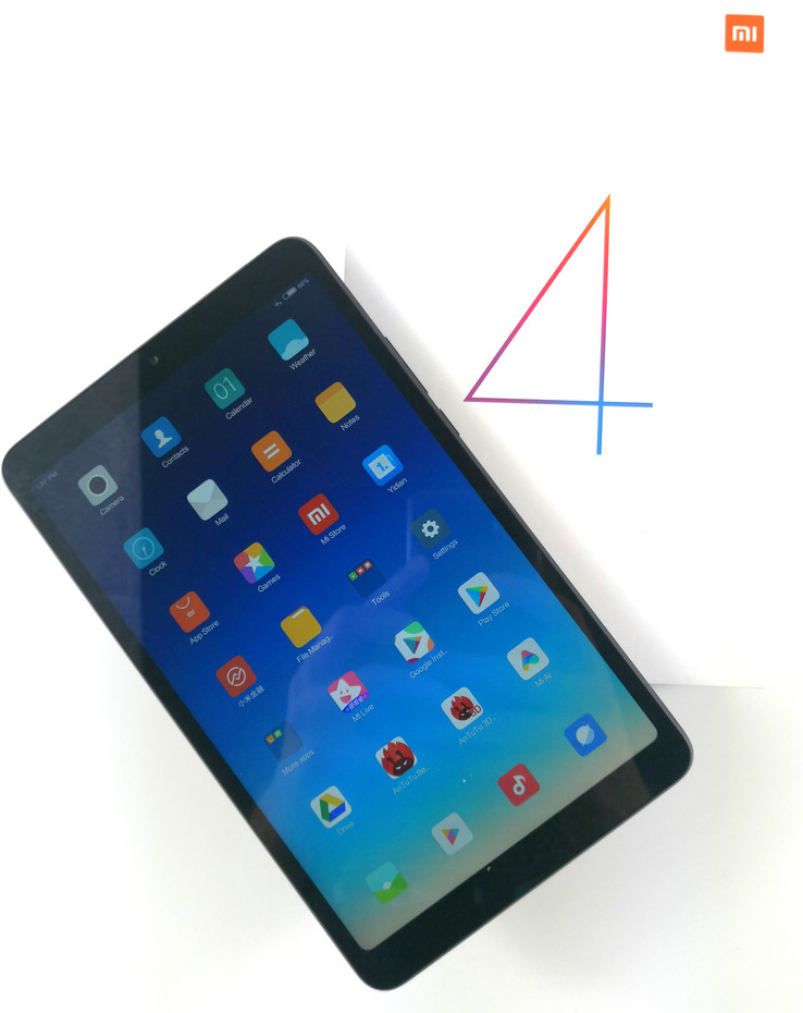 Xiaomi Mi Pad 4 (LTE) Tablet Review - NotebookCheck net Reviews