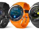 The Huawei Watch 2 may come in three different colors. (Source: VentureBeat)