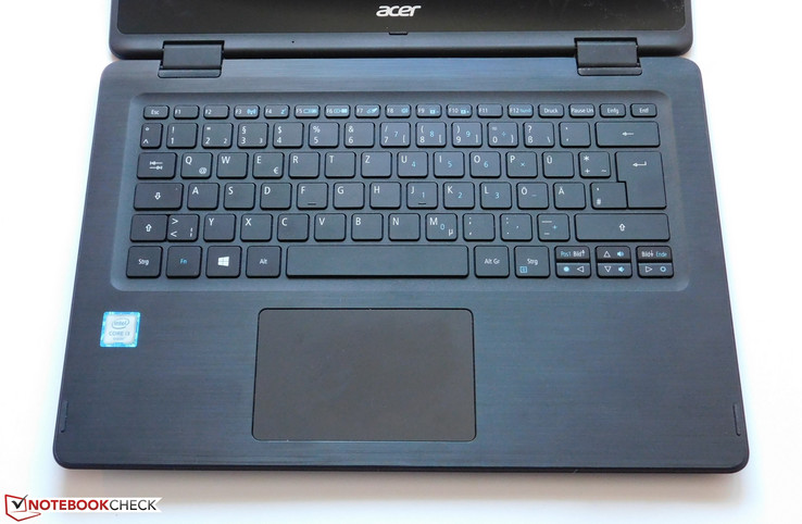 Input devices Acer Spin 5