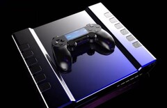 Concept render of the Sony PlayStation 5. (Image source: Concept Creator)