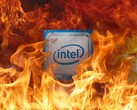 The Intel Alder Lake-S chip seemingly crashed and burned on UserBenchmark...but there are likely reasons behind the fail. (Image source: Intel/sdevil - edited)