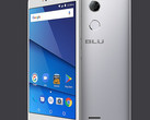 BLU R2 LTE Android smartphone in silver finish