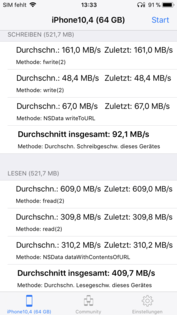 DiskBench: 64 GB version