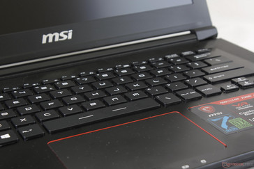 Keys are raised higher from the base than on most other Ultrabooks