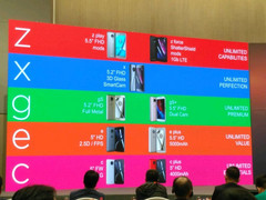 The leaked photo showing Motorola's 2017 smartphone lineup. (Source: Evan Blass)