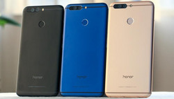 Color variants of the Honor 8 Pro