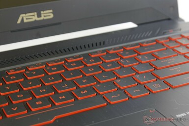 Adequate key travel with slightly softer feedback than the SteelSeries keys on  many MSI laptops