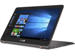 In review: Asus ZenBook Flip UX360UAK BB351T. Test model courtesy of Notebooksbilliger.de