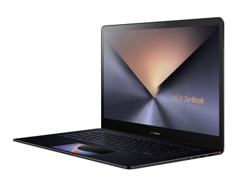 Asus ZenBook Pro 15 UX580 with ScreenPad. (Source: Asus)