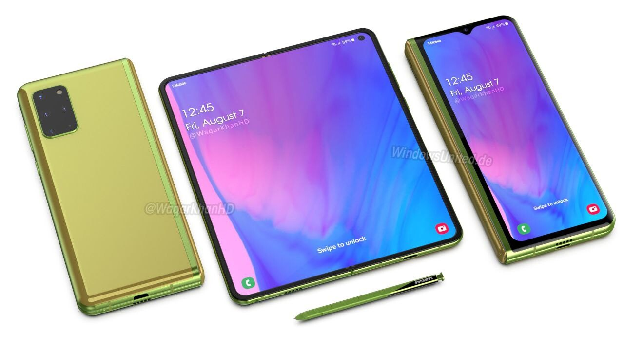 New Galaxy Fold 2 and Galaxy Z Flip 5G details get leaked -  NotebookCheck.net News