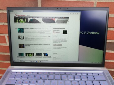 Asus ZenBook 14 - Outdoor use